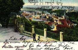 Gera, Blick V.d. Schlossterrasse, 1906 - Gera