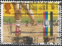 GREAT BRITAIN 1986 13th Commonwealth Games. Edinburgh - 29p - Weightlifting AVU - Used Stamps