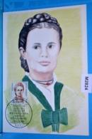 M2824 FDC Frauen Dt. Geschichte, Emma Ihrer, Politikerin, Gewerschaft, Karl Legien, Berlin DE 1988 - Mujeres Famosas