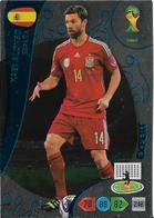 CARTE PANINI ADRENALYN COUPE DU MONDE FIFA BRESIL 2014 ESPAGNE XABI ALONSO EXPERT - Trading Cards