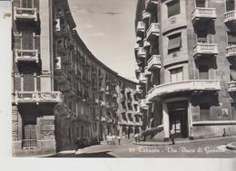 Taranto Via Duca Di Genova 1953  Vg  F/T - Taranto
