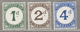 GIBRALTAR Porto 1956  MNH (**)  Mi 1-3 #23332 - Gibraltar