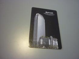 Thailand Bangkok Sukhumvit Marriott Hotel Room Key Card - Cartes D'hotel