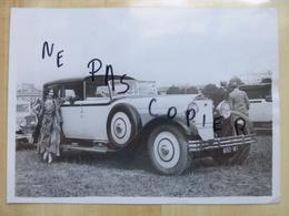 DELAGE CABRIOLET CONCOURS D'ELEGANCE VERS 1930 - PHOTOGRAPHIE ORIGINALE AUTOMOBILE VOITURE PHOTOS - Automobiles