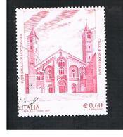 ITALIA REPUBBLICA  -   2007  CATTEDRALE CASALE MONFERRATO      -   USATO  ° - 6. 1946-.. Repubblica