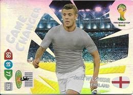 CARTE PANINI ADRENALYN COUPE DU MONDE FIFA BRESIL 2014 ANGLETERRE JACK WILSHERE GAME CHANGER - Trading Cards