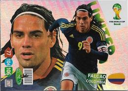 CARTE PANINI ADRENALYN COUPE DU MONDE FIFA BRESIL 2014 COLOMBIE FALCAO LIMITED - Trading Cards