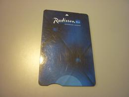 U.K. United Kingdom London Edwardian Radisson BLU Hotel Room Key Card - Cartes D'hotel