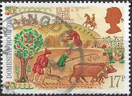 GREAT BRITAIN 1986 900th Anniv Of Domesday Book - 17p Peasants Working In Fields FU - Used Stamps
