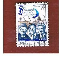 ITALIA REPUBBLICA  -   2009   CONFERENZA SULLE DROGHE   -   USATO  ° - 6. 1946-.. Repubblica