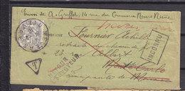 FRANCE 107 BANDE DE JOURNAL POUR MONACO-INCONNU - 1900-29 Blanc