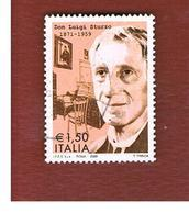 ITALIA REPUBBLICA  -   2009  DON STURZO         -   USATO  ° - 6. 1946-.. Repubblica