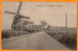 ROESELARE  -  ROULERS  -  LE MOULIN D'ESPAGNE  -   Février 1915  ( Soldat Alsacien  SCHLEIFER  Strasbourg ) - Roeselare