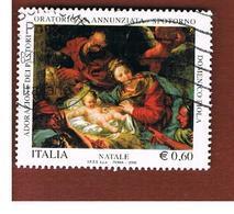 ITALIA REPUBBLICA  -   2009  NATALE RELIGIOSO                             -   USATO  ° - 6. 1946-.. Repubblica