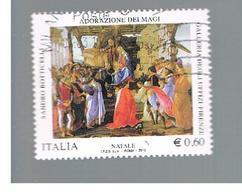 ITALIA REPUBBLICA  -   2010    NATALE                             -   USATO  ° - 6. 1946-.. Repubblica