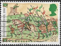 GREAT BRITAIN 1986 900th Anniv Of Domesday Book - 31p - Knight And Retainers FU - Used Stamps