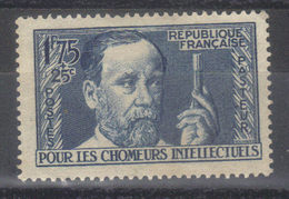 N° 385 *  Pasteur (1938) - Frankrijk