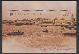 Singapore SO4-4M1 2004 Singapore Skyline, Miniature Sheet Mint Never Hinged - Singapore (1959-...)