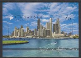 Singapore SO4-4M2 2004 Singapore Skyline, Miniature Sheet Mint Never Hinged - Singapore (1959-...)