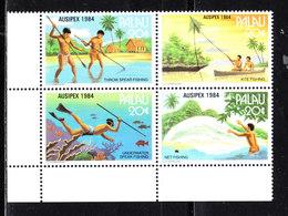 Palau - 1984. Metodi Di Pesca. Fishing Methods. MNH - Alimentazione