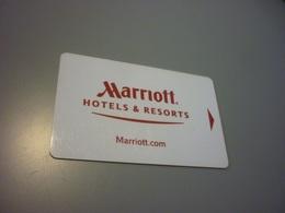 Marriott International Hotel Room Key Card - Cartes D'hotel