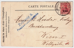 "Etapes, 1918, Rare Oblit. "" Tournai "" , #a1329 - Weltkrieg 1914-18"