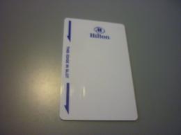 Hilton International Hotel Room Key Card - Cartes D'hotel