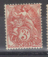 FRANCE   Type Blanc  N° 109 Rouge   Type IB    (1900)  Voir Agrandissement - France