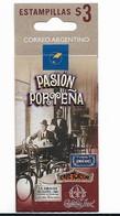 ARGENTINA 1999,  CAFE BOOKLET, COFFEE SHOPS, BARES, FAMOUS PLACES, PUBS, MICHEL 2469-72, SCOTT 2056 BK - Unused Stamps