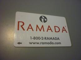 Ramada International Hotel Room Key Card - Cartes D'hotel