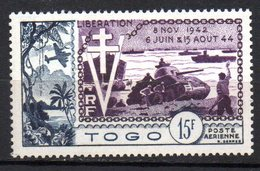 Col10   Togo PA  N° 22  Neuf X MH  Cote :  7,50 Euro Cote 2015 - Togo (1914-1960)