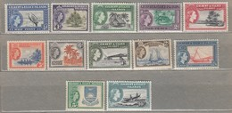 GILBERT ELLICE ISLANDS 1956  MNH/MVLH (**)  Mi 59-70 SG 64-75 Look Scan  #23337 - Gilbert & Ellice Islands (...-1979)