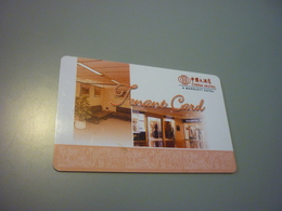 China Marriott Hotel Room Key Card (tenant Card) - Cartes D'hotel