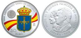 """ESPAÑA / SPAIN  30€ SILVER / PLATA 2.018 2018 """"1.300 Aniversario Del Reino De Asturias"""" SC/UNC T-DL-12.243 - España"""