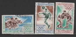 """CONGO ;P.A. N°74-75-76 """"  J.O, - Congo - Brazzaville"""