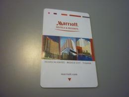 Mexico Tijuana Marriott Hotel Room Key Card - Cartes D'hotel