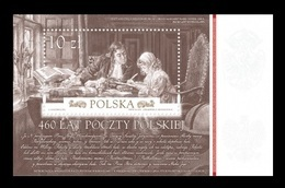 Poland 2018 Mih. 5025 (Bl.277) Polish Post MNH ** - 1944-.... Republiek