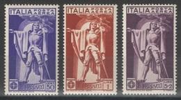 Italie - YT PA 18-20 ** - 1930 - 1900-44 Victor Emmanuel III