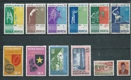 INDONESIE   Yvert  N° 283-289-293-298-300-304-428-431-476-477-844-981  Oblitérés - Indonesia