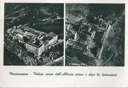 MONTECASSINO Avant Et Après 1944 - Italia