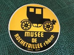Autocollant Automobile Musée De Rochetaillee - Stickers