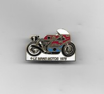 PIN'S  HONDA LE MANS - Motorbikes