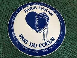 Autocollant Paris Dakar - Stickers