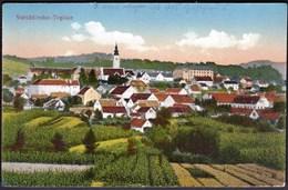 Croatia Varazdinske Toplice 1929 / Panorama, Church / Kingdom SHS - Kroatien