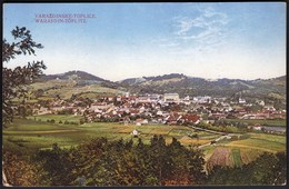 Croatia Varazdinske Toplice, Warasdin Toplitz 1918 / Panorama - Kroatien