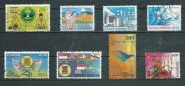INDONESIE   Yvert  N° 988-1083-1251-1287-1304-1305-1668-1876  Oblitérés - Indonesia