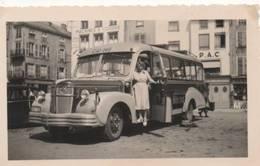 39646  -  Châlons  Sur  Marne  -  Ancienne  Photo  12  X  7,5  -  Autobus  -autocar - Châlons-sur-Marne
