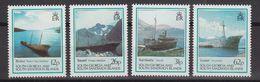 South Georgia 1990 Shipwrecks 4v ** Mnh (41322) - Zuid-Georgia