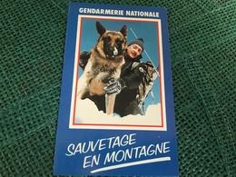Autocollant Gendarmerie Nationale Sauvetage En Montagne - Autocollants