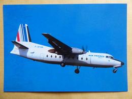 AIR FRANCE / AIR ALPES    FOKKER 27   F BYAA - 1946-....: Era Moderna